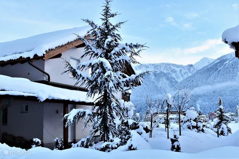 Vakantiehuis Oostenrijk, Karinthië, Kötschach-Mauthen Chalet Haus Alpenglühen