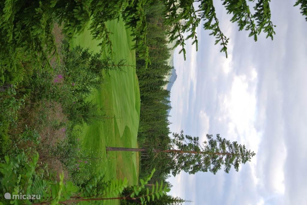 18 holes golfbaan, 800 m vanaf ons chalet.