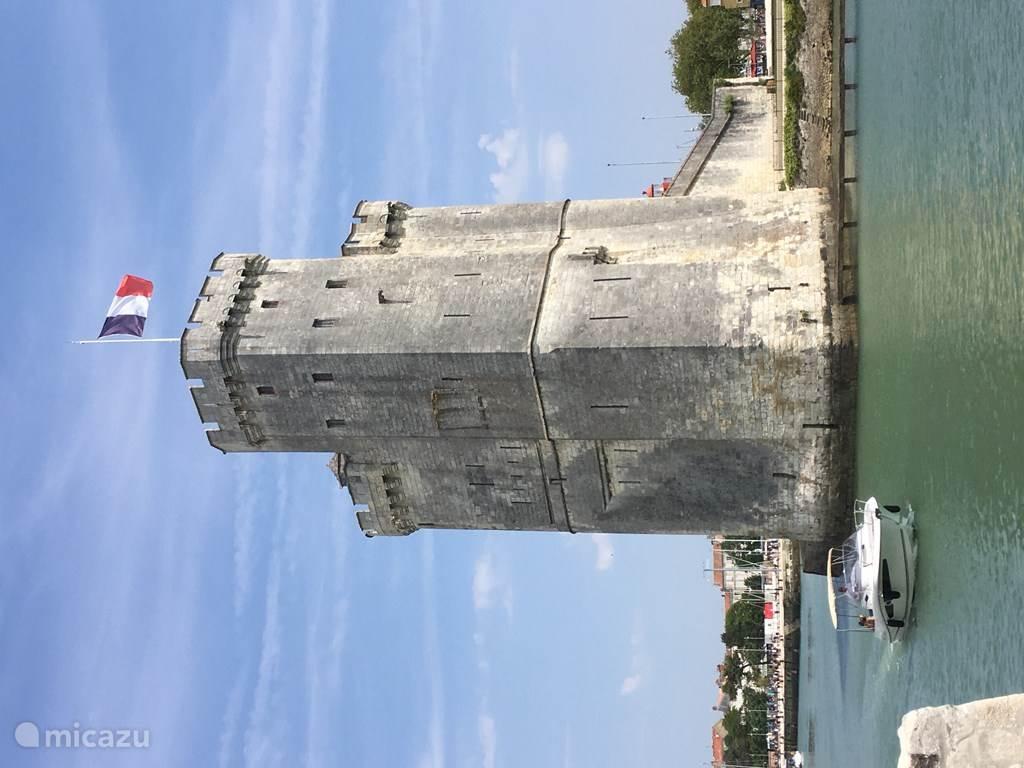 La Rochelle fishing port town