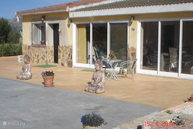 Vakantiehuis Spanje, Costa Blanca, Onil Villa Senda Soleada
