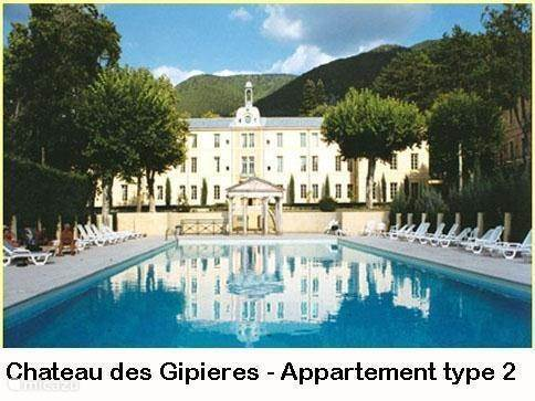 Vakantiehuis Frankrijk, Provence, Montbrun-Les-Bains - appartement Château des Gipieres Appt 2-4p PZ