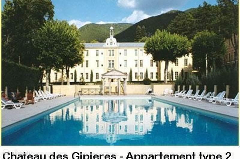 Vakantiehuis Frankrijk, Drôme, Montbrun-les-Bains Appartement Château des Gipieres Appt 2-4p PZ