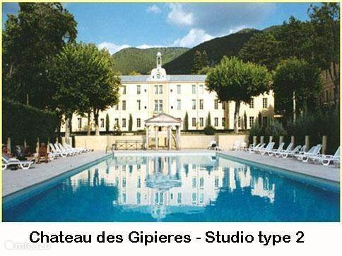 Vacation rental France, Provence, Montbrun-Les-Bains - studio The chateau Studio 2p. PZ