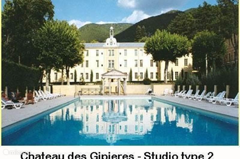 Vakantiehuis Frankrijk, Drôme, Montbrun-les-Bains Studio Château des Gipières Studio 2p. PZ