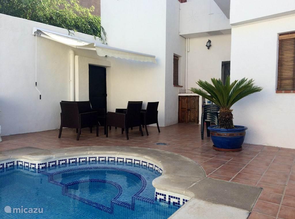 Vakantiehuis Spanje, Andalusië, Niguelas (Granada) villa Casa Rosa,Luxe Dorps Villa 6 Pers.