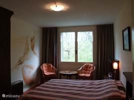 Slaapkamer 1 voor twee personen.