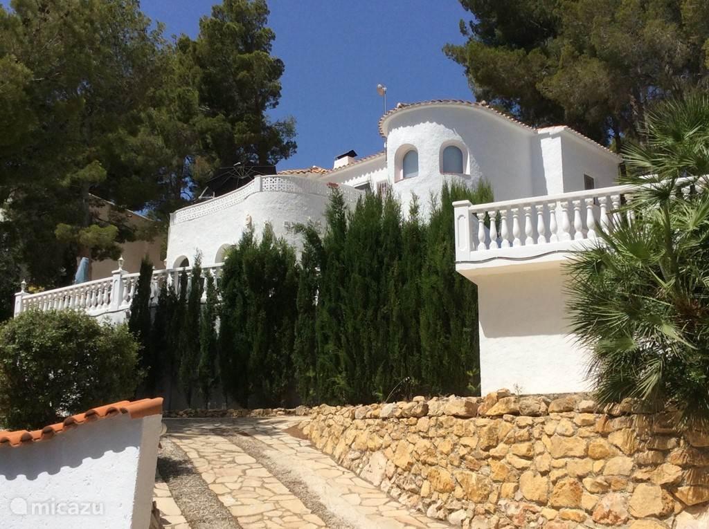 Vakantiehuis Spanje, Costa Blanca, Altea la Vieja - villa Soleada Paradiso