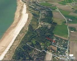 Luchtfoto van het parkje 'De Ruiser'