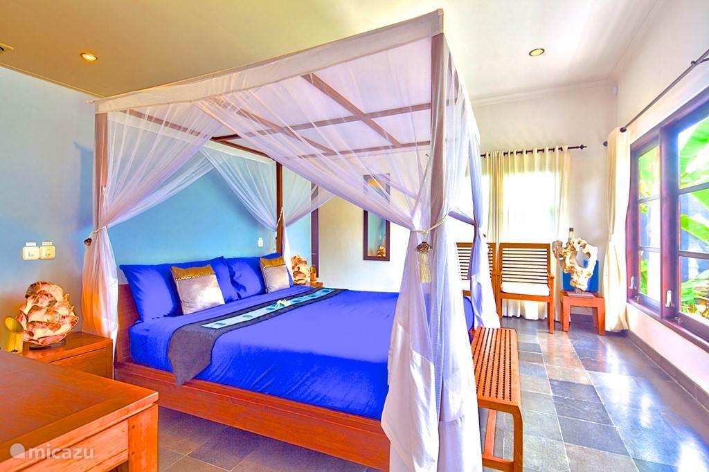 slaapkamer 3 villa nujum met airco