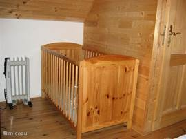 For the little ones we have two cots and a campbed available. Mattresses are provided for.