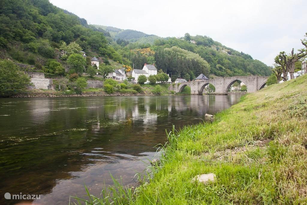 Een karakteristiek plaatsje in de Aveyron