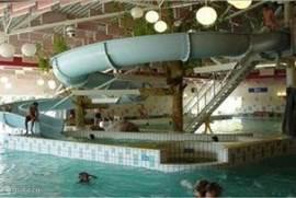 Gratis entree subtropisch zwembad De Beemd (met prachtige 35 meter lange waterglijbaan) gedurende uw gehele vakantie.