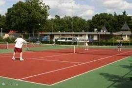Tennisbanen zijn aanwezig op het park zelf. Net zoals midget golf, diverse speeltuinen, jeu de boules, beachvolleybal veld, springkussen, Kidz indoor speel faciliteit.