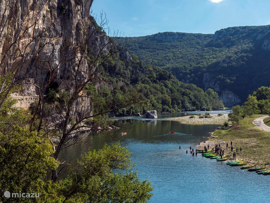 the river and gorges d'Ardeche