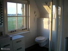 Ook in de badkamer is het uitzicht fantastisch!