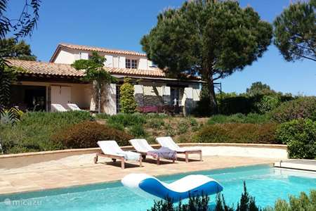 Vacation rental France, French Riviera, La Croix-Valmer villa Villa 'Mas Muguet'