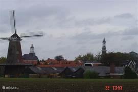 Gezicht op Ootmarsum, stadje van kunst en cultuur waar altijd iets te doen is.