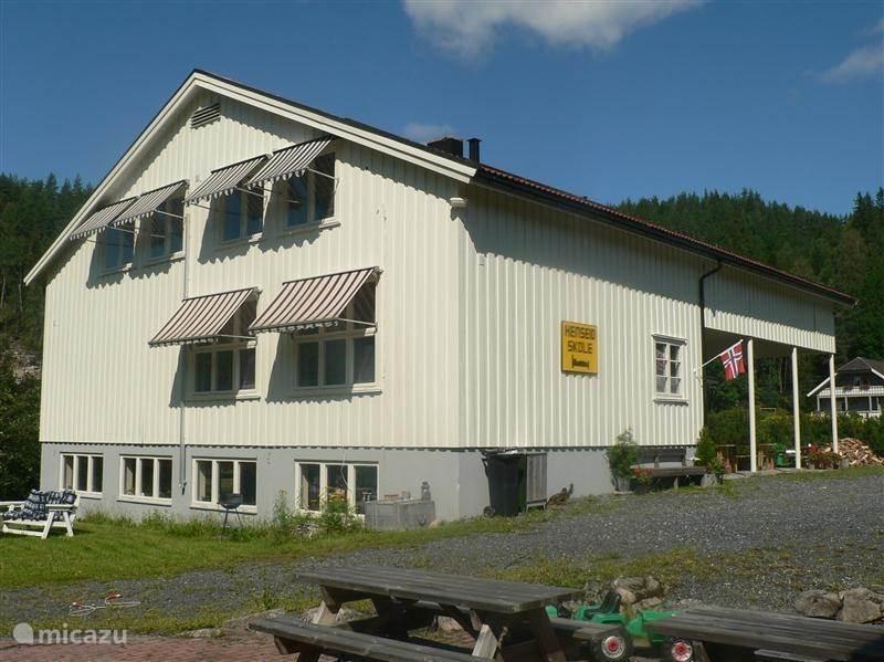 Vakantiehuis Noorwegen, Telemark – appartement Henseid Skole