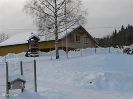 Henseid Skole, ook voor wintersport.