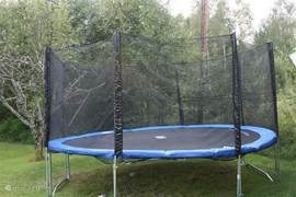 trampoline inclusief veiligheidsnet