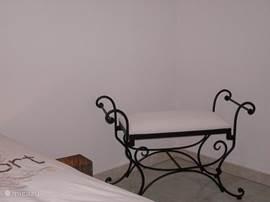 Detail slaapkamer