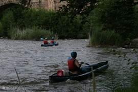 Alet les Bain, Couizia en Limoux zijn de plaatsen om aan watersport te doen.