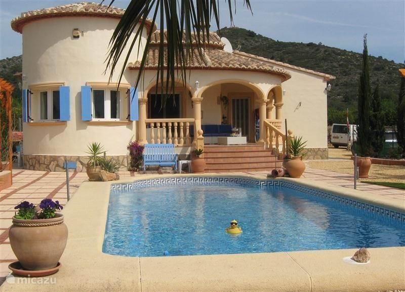Vakantiehuis Spanje, Costa Blanca, Murla - villa Casa del fontanero in Murla