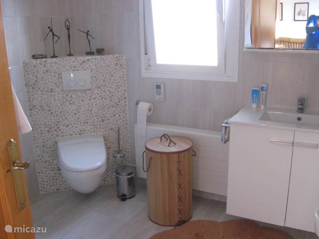 ensuite badkamer met inloopdouche