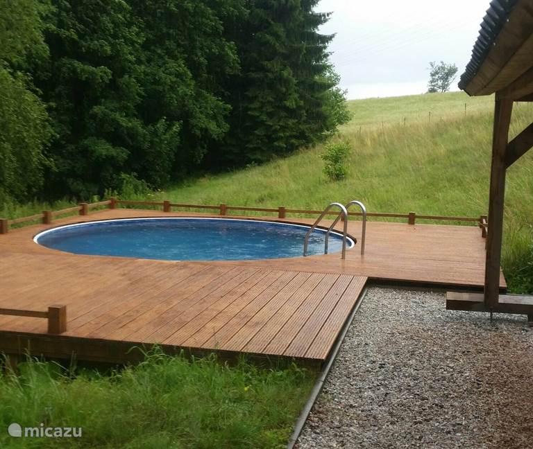 Zwembad voltooid