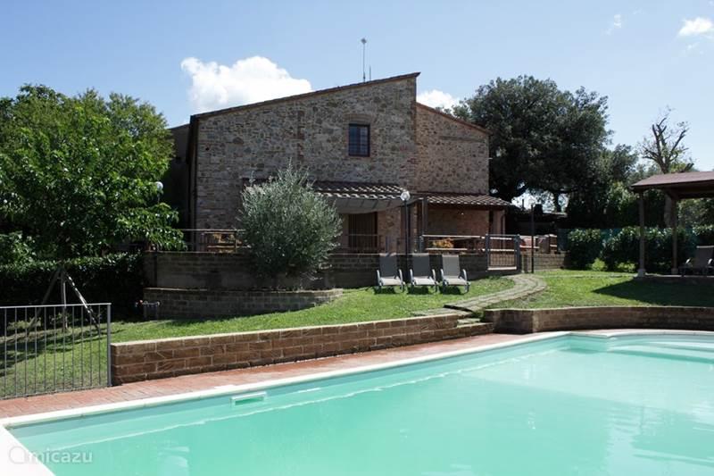 Vacation rental Italy, Tuscany, Garetto Holiday house Casa Al Settimo Cielo