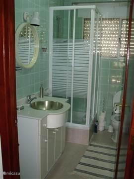Badkamer beneden (2013 gerenoveerd)