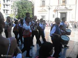 Bevrijdingsfeest in Valencia een feestelijk dag