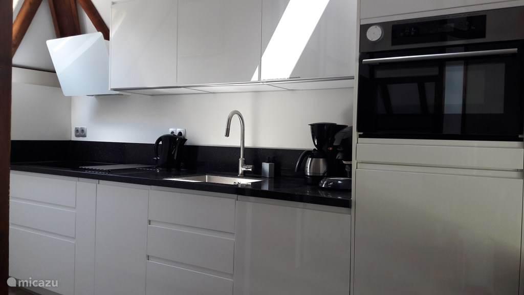 Nieuwe keuken zojuist geplaatst