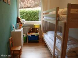 The children's bedroom has a children's bunk beds (80x1.90)