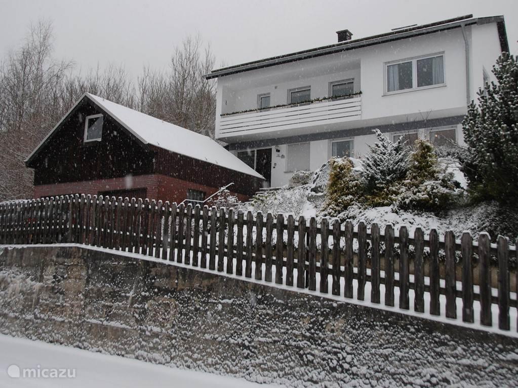 Vakantiehuis Elpe in de winter