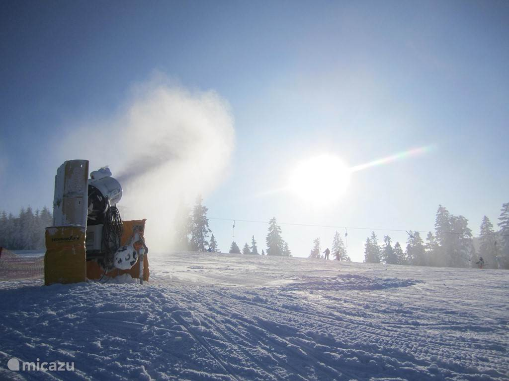 Thanks to the snow cannons are good winter sports facilities in Winterberg.