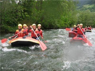 Flattach: rafting and kayaking