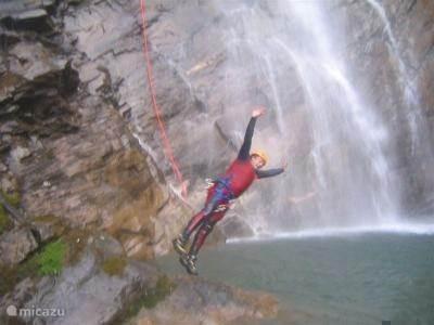 Flattach : canyoning