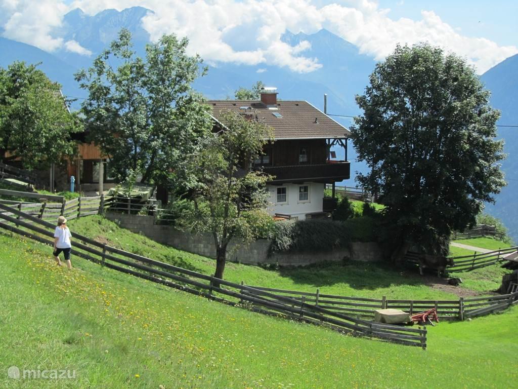 Vakantiehuis Oostenrijk, Karinthië, Flattach - chalet Almhaus Hüttenromantik