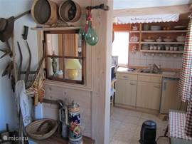 kitchenette on ground floor