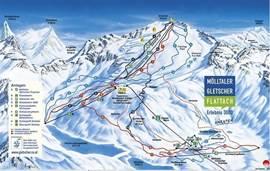Mölltaler gletscher op 10 km, het hoogste skigebied in Karinthië