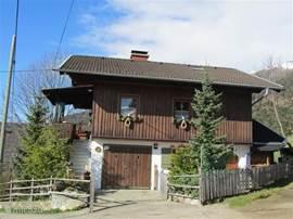 Almhaus Hüttenromantik, het voorlaatste huis op de alm