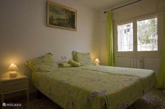 groen slaapkamer boven