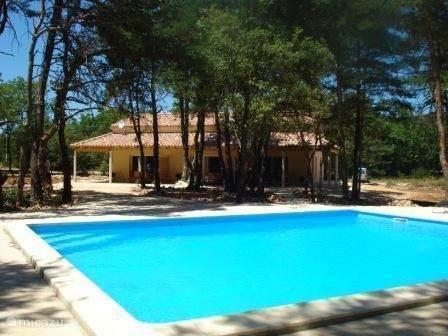 Vakantiehuis Frankrijk, Ardèche, Labastide de Virac - vakantiehuis Villa La Lauze
