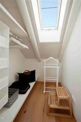 Walk-in closet, slaapkamer