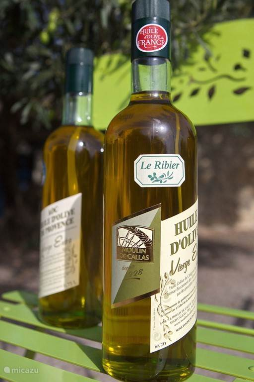 De olijfolie uit de regio hoort tot de beste van het land
