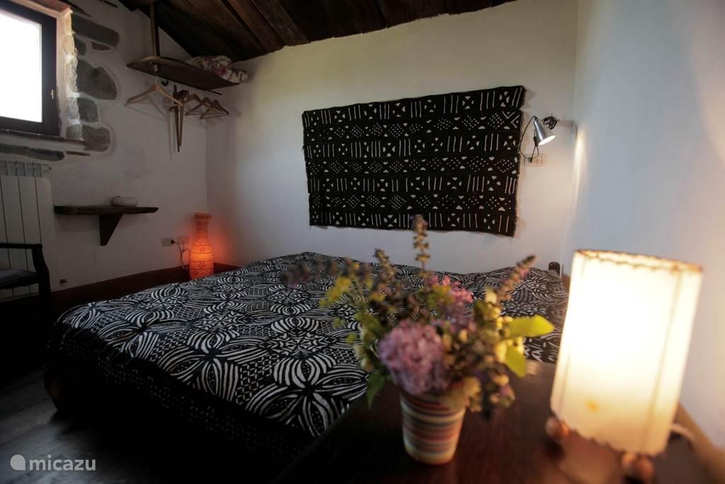 De slaapkamer van het Seccatoio