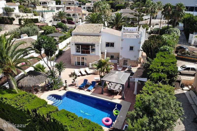 Vakantiehuis Spanje, Costa Blanca, Benissa Villa Villa Villahermosa Moraira