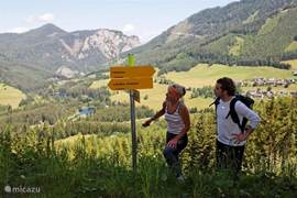 200 km of marked hiking trails