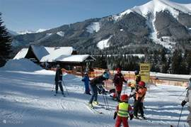 Ski lessons for young and old